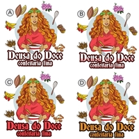 Deusa do Doce, Logo e Identidade, Alimentos & Bebidas