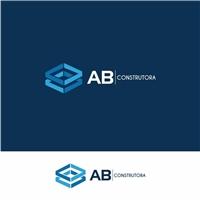 AB CONSTRUTORA , Logo e Identidade, Construção & Engenharia