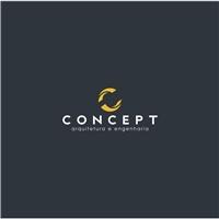 Concept, Logo e Identidade, Construção & Engenharia