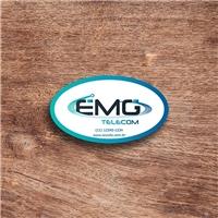EMG TELECOM, Logo e Identidade, Computador & Internet