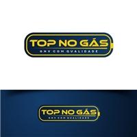 TOP NO GÁS Concessionária de GNV, Logo e Identidade, Automotivo