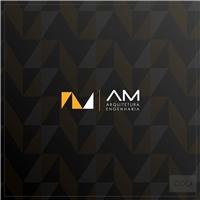 AM - Arquitetura e Engenharia, Logo e Identidade, Arquitetura