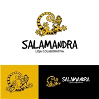Salamandra, Logo e Identidade, Roupas, Jóias & acessórios