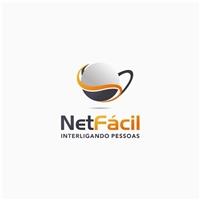 NetFácil ISP Telecom, Logo e Identidade, Computador & Internet