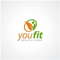 You Fit Healthy food, Logo e Identidade, Alimentos & Bebidas