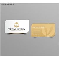 Virtual Estetica, Logo e Identidade, Beleza