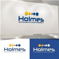 Holmes rastreamento e monitoramento, Logo e Identidade, Automotivo