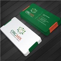 Orgmix- Alimentos Sustentaveis e Organicos, Logo e Identidade, Alimentos & Bebidas