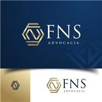 FNS Advocacia, Logo e Identidade, Advocacia e Direito