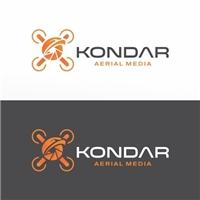 Kondar - aerial media, Logo e Identidade, Fotografia