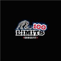 100Limits Crossfit, Logo e Identidade, Saúde & Nutrição