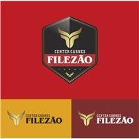 Center Carnes Filezão, Logo e Identidade, Alimentos & Bebidas
