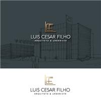 Luis Cesar Filho - Arquiteto & Urbanista, Logo e Identidade, Arquitetura