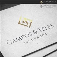 Campos & Teles Advogados, Logo e Identidade, Advocacia e Direito
