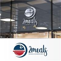 2Meals, Logo e Identidade, Alimentos & Bebidas