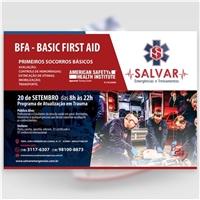 CURSO BFA - SALVAR EMERGÊNCIAS E TREINAMENTOS, Peças Gráficas e Publicidade, Educação & Cursos