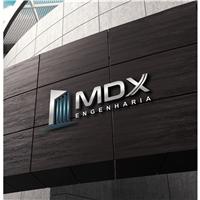 MDX Engenharia, Logo e Identidade, Construção & Engenharia