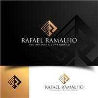 Rafael Ramalho engenharia & construção, Logo e Identidade, Construção & Engenharia