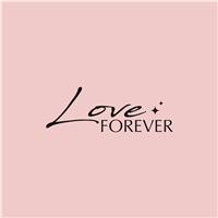 LOVE FOREVER , Logo e Identidade, Roupas, Jóias & acessórios