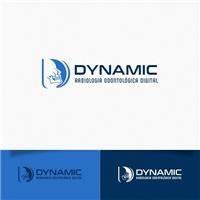 Dynamic Radiologia Odontológica Digital, Logo e Identidade, Saúde & Nutrição