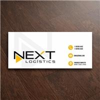 NEXT LOGÍSTICS, Logo e Identidade, Logística, Entrega & Armazenamento