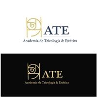 Academia de Tricologia e Estética - ATE, Logo e Identidade, Educação & Cursos