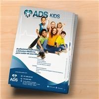 Clínica ADS / ADS Kids, Peças Gráficas e Publicidade, Saúde & Nutrição