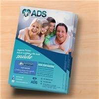 Clínica ADS/ Cartão ADS, Peças Gráficas e Publicidade, Saúde & Nutrição