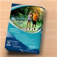 Clínica ADS/ADS Fitness, Peças Gráficas e Publicidade, Saúde & Nutrição