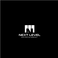 NEXT LEVEL ENTERTAINMENT, Logo e Identidade, Artes, Música & Entretenimento