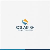 SOLAR BH ENERGIA FOTOVOLTAICA , Logo e Identidade, Construção & Engenharia