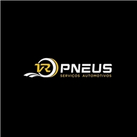 VR PNEUS, Logo e Identidade, Automotivo