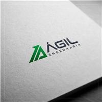 Ágil Engenharia, Logo e Identidade, Construção & Engenharia