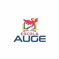 Escola Auge, Logo e Identidade, Educação & Cursos