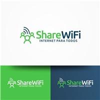 ShareWiFi, Logo e Identidade, Marketing & Comunicação