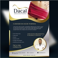 Dacal (Ginecologia Moderna), Peças Gráficas e Publicidade, Saúde e Nutrição - Ginecologista