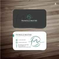 Francelle Miletho - Fisioterapia Dermatofuncional, Logo e Identidade, Saúde & Nutrição