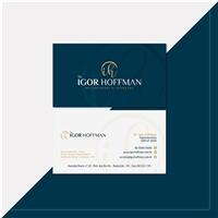 Dr. Igor Hoffman - Implantodontia Avançada, Logo e Identidade, Saúde & Nutrição