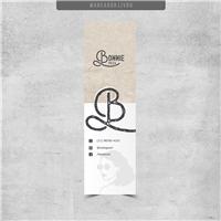 Bonnie Pizza, Logo e Identidade, Alimentos & Bebidas