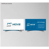 Move Remoções, Logo e Identidade, Logística, Entrega & Armazenamento