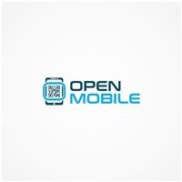 OPEN MOBILE, Logo e Identidade, Computador & Internet