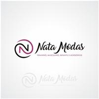 NATA MODAS, Logo e Identidade, Roupas, Jóias & acessórios