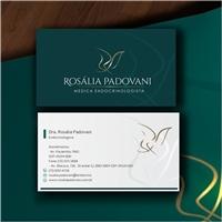 Dra. Rosália Padovani, Logo e Identidade, Saúde & Nutrição