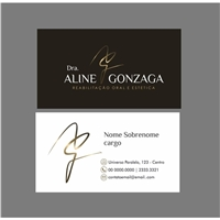 Drª Aline Gonzaga, Logo e Identidade, Saúde & Nutrição