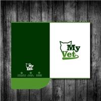 MY VET , Logo e Identidade, Animais