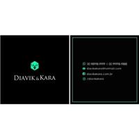 Diavik & Kara, Logo e Identidade, Roupas, Jóias & acessórios