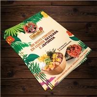 UMAMI POKE E TEMAKERIA, Peças Gráficas e Publicidade, Alimentos & Bebidas