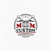 MM Custom Motorcycles, Logo e Identidade, Automotivo