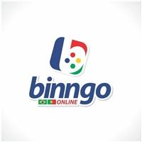 """Binngo (subtítulo """"Online""""), Logo e Identidade, Artes, Música & Entretenimento"""
