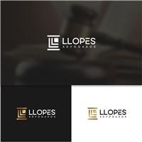 LLOPES ADVOGADOS, Logo e Identidade, Advocacia e Direito